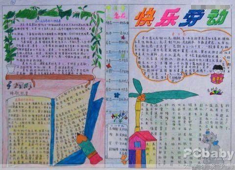 五一劳动节手抄报:中国劳动节纪念歌曲