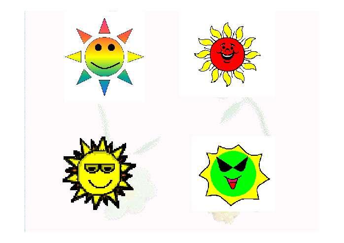 四个太阳ppt - 一年级- 21世纪教育