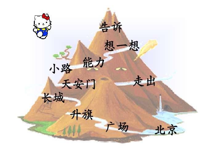 3,能理解课文内容,知道北京是我国的首都,五星红旗是我们的国旗