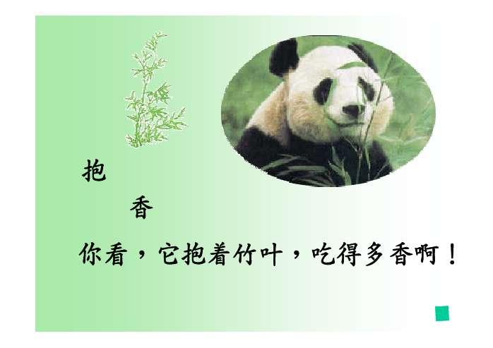 大熊猫ppt - 一年级- 21世纪教育