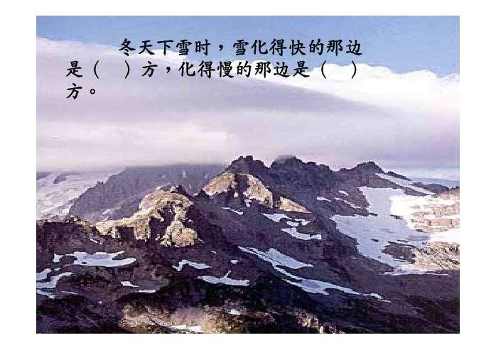 大自然,天然,指南针,准确,忠实,向导,指点,树影,北极星,永远,阴雨天