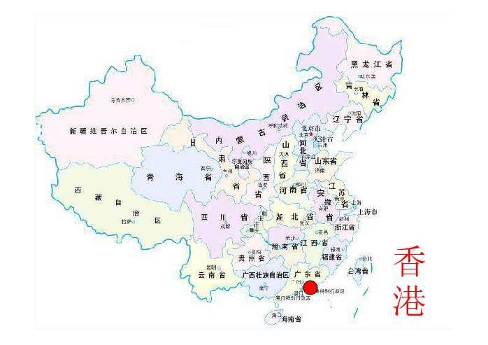 中国地图拼音版