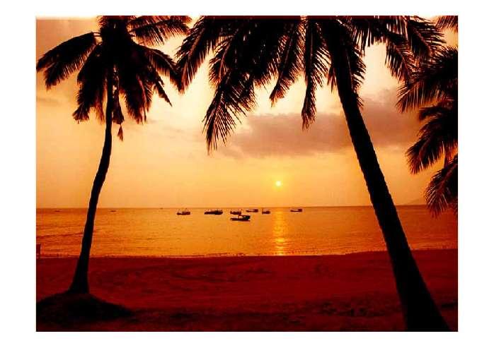 风景夕阳的ppt背景图