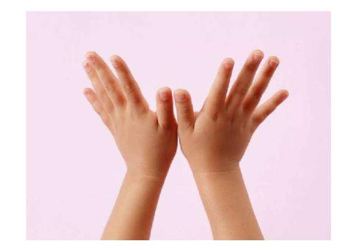 五个手指可爱图片