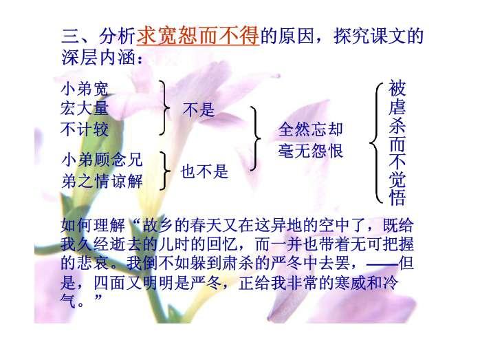 鲁迅风筝板书设计图片