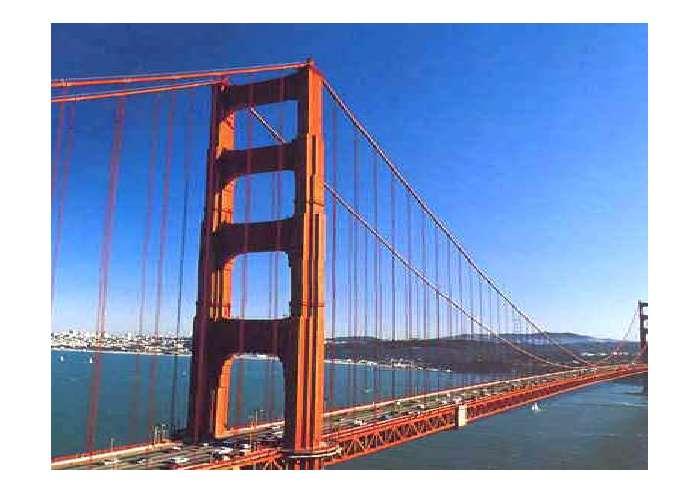 桥梁ppt矢量素材