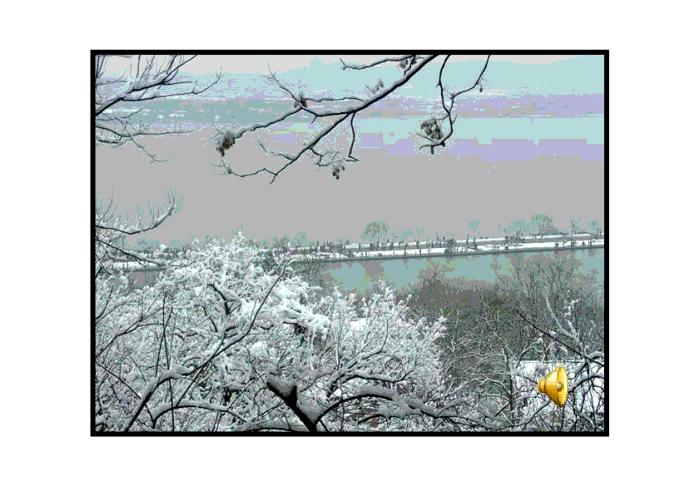 湖心亭看雪ppt